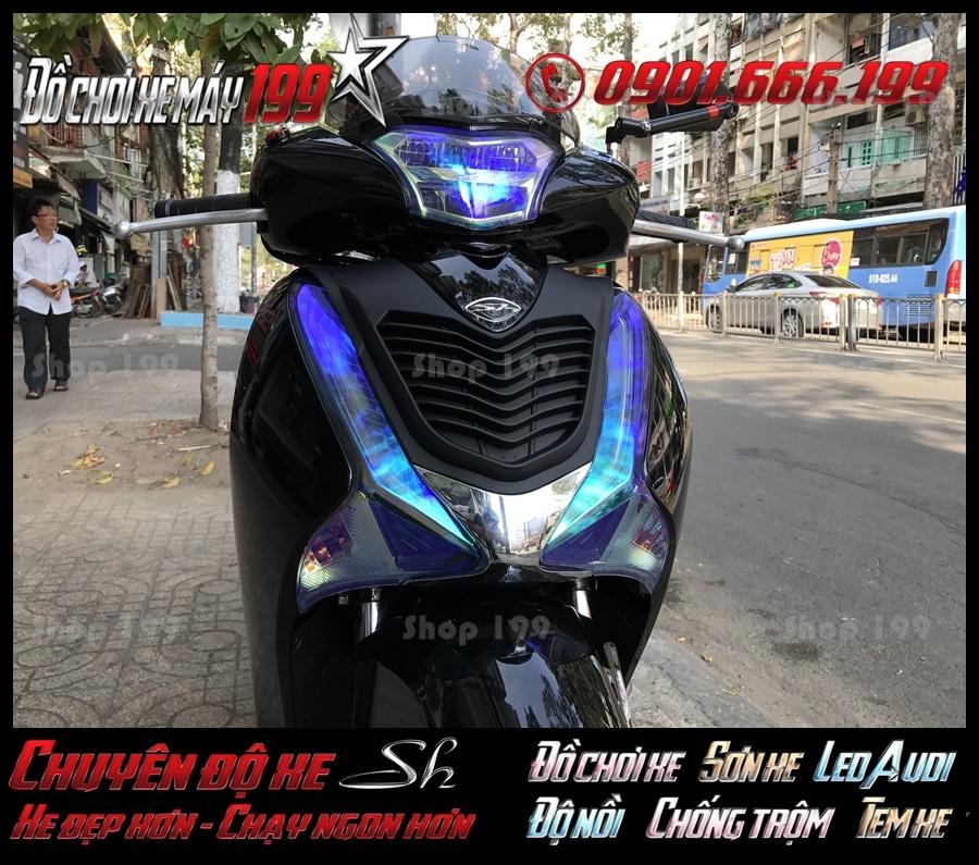 Image of đồ trang trí độ choá đèn Titan SH Việt 2017 2018 2019 125i 150i chất lượng tốt nhất ở Miền Nam
