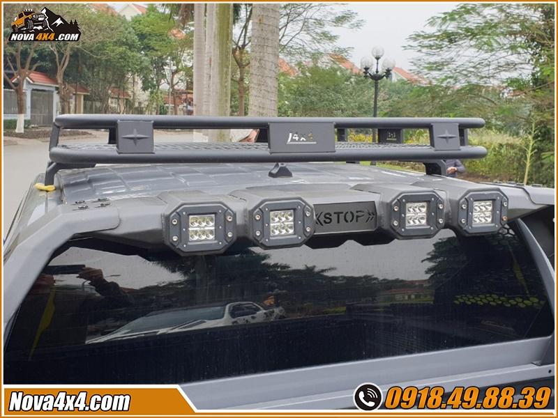 Bán sỉ và lẻ baga mui cho xe bán tải Triton BT50 Dmax Hilux Colorado Ford Ranger Navara ở tp HCM