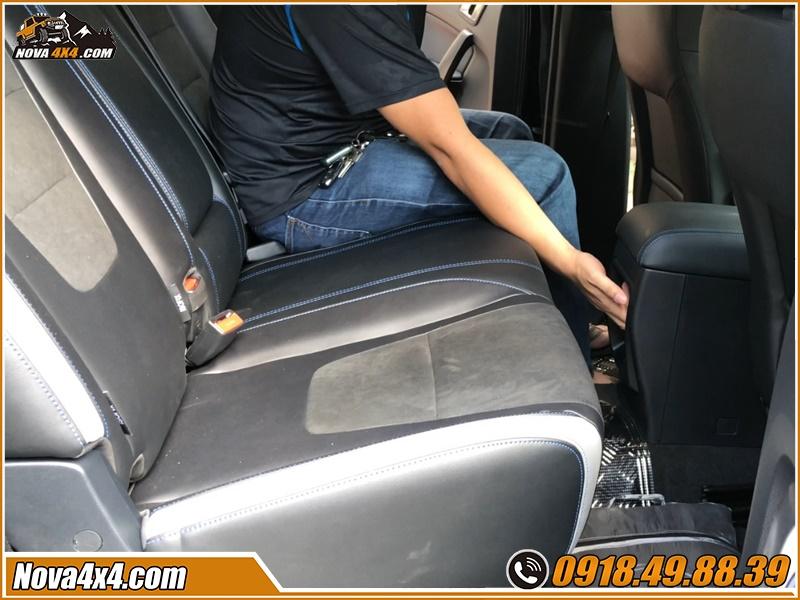 Độ ghế chỉnh điện xe bán tải để cảm nhận được những ích lợi mà nó đem lại