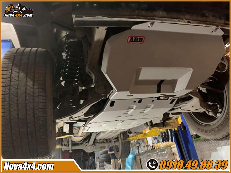 Giáp gầm xe bán tải giá khuyến mãi khủng tại HCM Garage Nova4x4