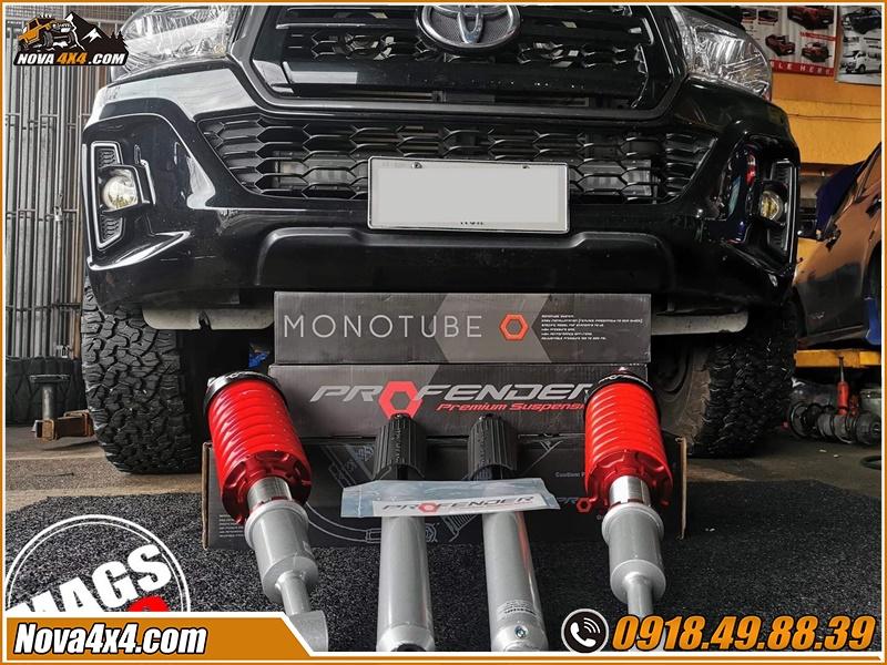 Phuộc Profender xe bán tải giá tốt tại garage Nova4x4