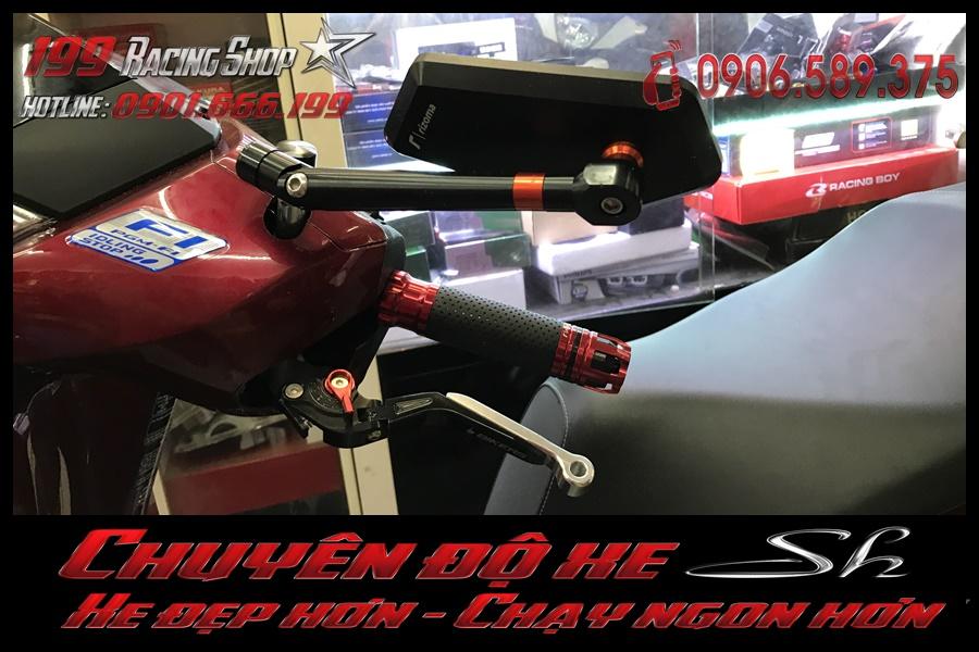 Image of đồ chơi Bao tay độ - Tay thắng đẹp - Gương chiếu hậu đẹp độ lắp đặt của xe sh 2017 2018 2019 150i 125i rẻ tại TP Hồ Chí Minh