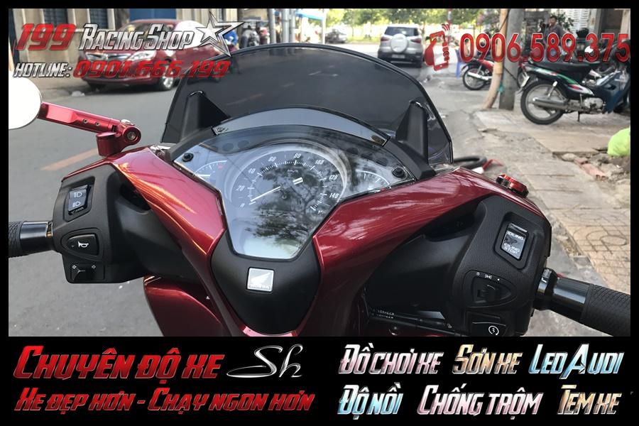 Ảnh về phụ kiện trang trí Kính che gió 2017 cho xe SH Việt 2017 2018 2019 125i 150i siêu đẹp nhất trong Quận 5, HCM