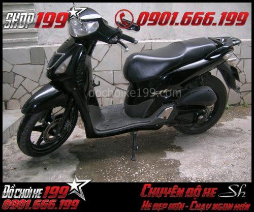 SH 2005 màu đen khi chưa lên đời Sh 2010
