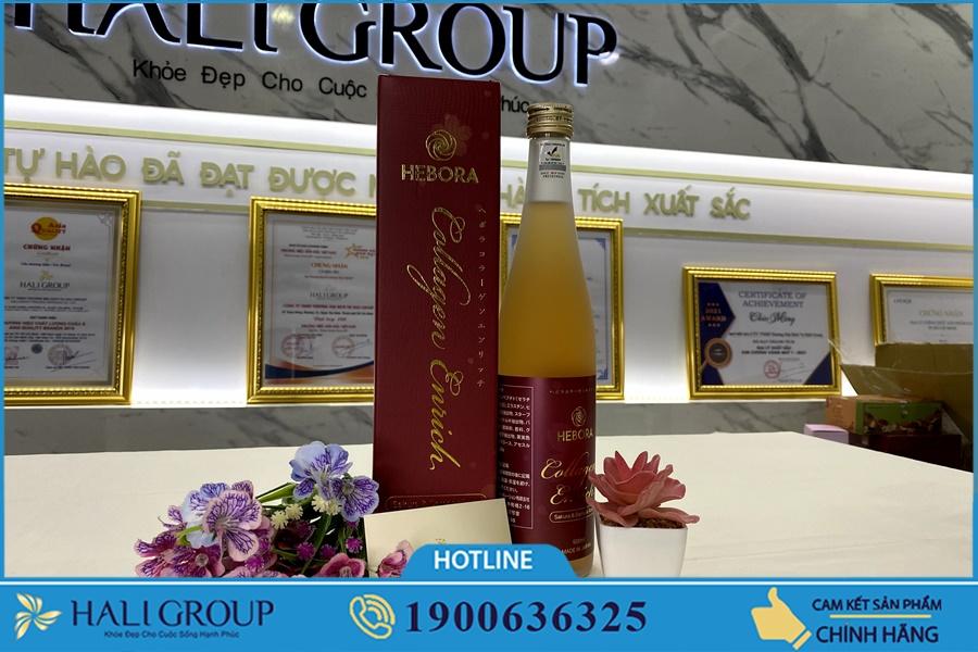 Nước Uống Collagen Hebora Enrich Nhật Bản bán ở đâu?
